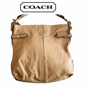 COACH Collette signature hobo/shoulder bag